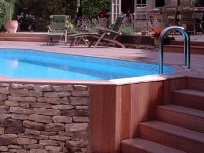 Stunning Wooden Pool